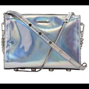 Rebecca Minkoff Holographic Mini MAC Crossbody Bag